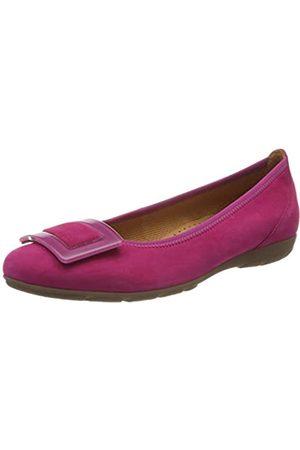 Gabor Shoes Damen Casual Geschlossene Ballerinas, Pink (Fuxia 10)