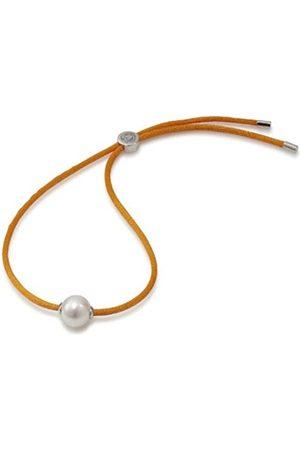 ADRIANA Damen-Armband Süßwasser Zuchtperlen sunset 925 Silber Rainbow RAA-O