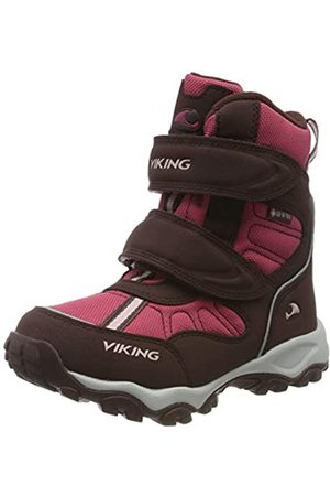Viking Unisex-Kinder Bluster II GTX Schneestiefel, Wine/Red