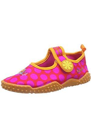 Playshoes DIE MAUS UV-Schutz Badeschuhe DIE MAUS Punkte 174702, Mädchen Aqua Schuhe, Pink (original 900)