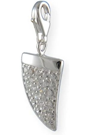 Melina Damen-Charm Anhänger Zahn Zirkonia 925 Sterling Silber 1800605