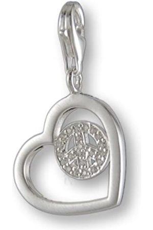 Melina Damen-Charm Anhänger Herz 925 Sterling Silber 1801247