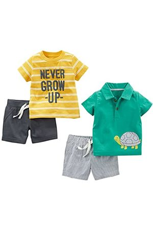 Simple Joys by Carter's Baby Jungen Spielbekleidungs-Set, 4-teilig
