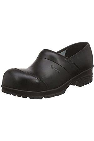 Sanita Workwear Unisex-Erwachsene San-Duty Closed-S2 Clogs, (Black 2)