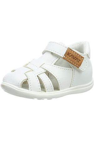 Kavat Unisex-Kinder Rullsand Geschlossene Sandalen, (White 988)
