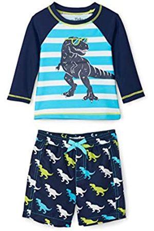 Hatley Baby-Jungen Rash Guard Swimsuit Sets Badebekleidungsset