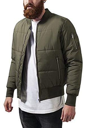 Urban classics Herren Basic Quilt Bomber Jacket Jacke