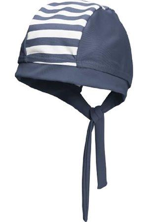 Playshoes Baby - Jungen Mützchen, gestreift 460119 Bade-Kopftuch/ Bademütze Maritim von mit UV-Schutz nach Standard 801 und Oeko-Tex Standard 100