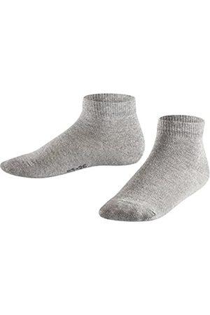 Falke Kinder Sneakersocken Shiny - Baumwollmischung, 1 Paar, (Light Grey 3400)