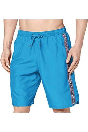 Armani Herren Bermuda Beachwear Bold Logo Tape Badehose