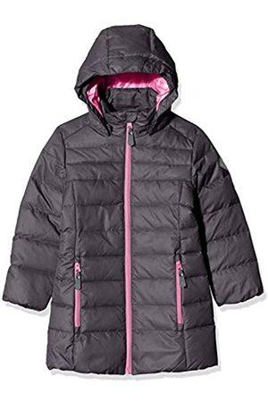Color Kids Mädchen Padded Lange Kapuze Jacke