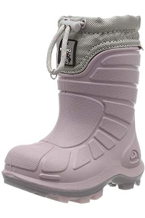 Viking Extreme Unisex-Kinder Schneestiefel, Pink (Light Lilac/Pearl Grey)