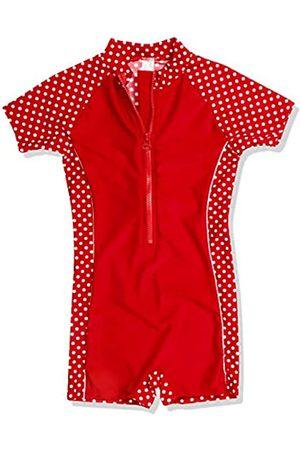 Playshoes Mädchen Bademode Einteiler, Badeanzug Punkte mit UV-Schutz