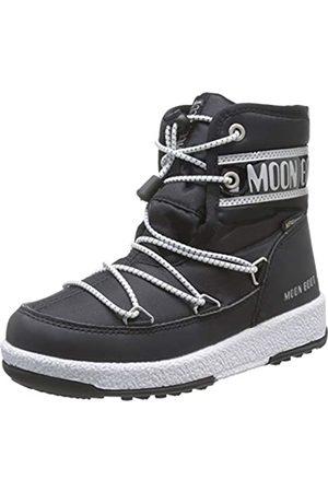 Moon Boot Jungen Jr Boy Mid Wp Schneestiefel, (Nero 001)