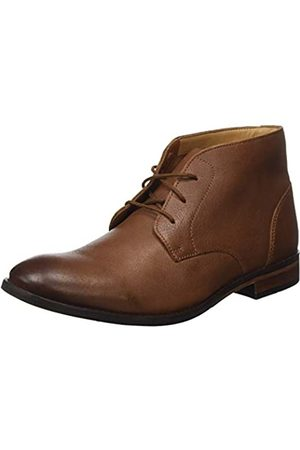 Clarks Herren Flow Top Chukka Boots, (Tan Leather Tan Leather)