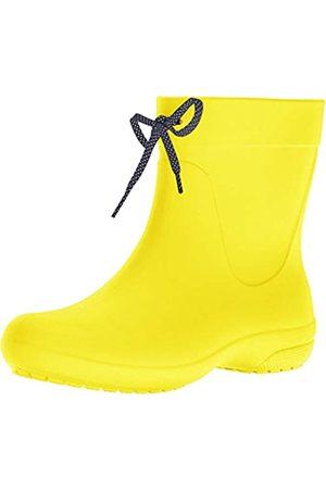 Crocs Freesail Shorty Rain Boots, Damen Gummistiefel, (Lemon)