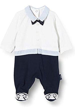 chicco Baby-Jungen Tutina Bimbo Elegante Con Apertura Sul Patello Playsuit