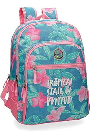 Maui & Sons Tropical State Schulrucksack 44 centimeters 26.14 (Multicolor)