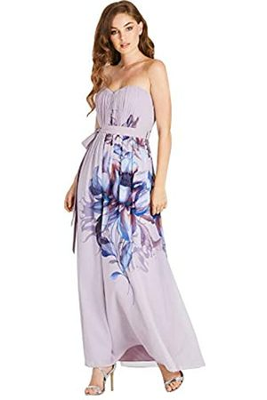Little Mistress Damen Corina Floral Bandeau Maxi Dress Kleid