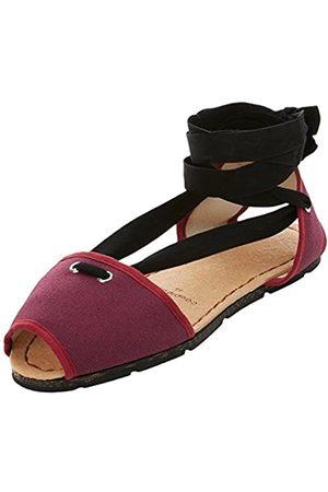 Spartans Shoes Damen Couple&Pie Original Espadrilles, (Burgundy)