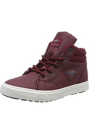 KangaROOS Unisex-Kinder KAVU I Hohe Sneaker, (Dk Berry/Vapor Grey 6142)