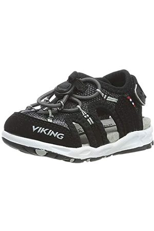 Viking Unisex-Kinder Thrill II Geschlossene Sandalen, (Black/Grey 203)