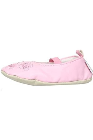 Playshoes Mädchen, Balettschlà â¤ppchen Blumen Gymnastikschuhe, Pink (original 900)