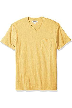 Goodthreads Amazon-Marke: Herren Kurzärmeliges T-Shirt mit Brusttasche und V-Ausschnitt - - Large