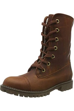 Roxy Damen Vance - Lace-up Leather Boots for Women Schlupfstiefel, (Chocolate CHL)