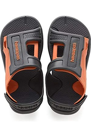 Havaianas Unisex-Kinder Kids Move Sandalen, (New Graphite)