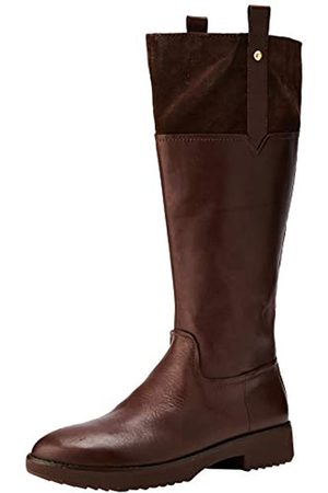 FitFlop Damen Signey Mixte Hohe Stiefel, (Chocolate Brown 167)