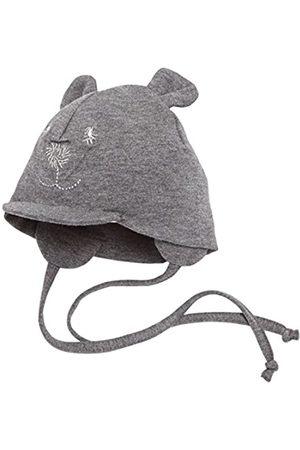 Sterntaler Unisex Schirmmütze mit Bindebändern, Nackenschutz und niedlichem Bärchen-Motiv, Alter: 1-2 Monate, Größe: 35