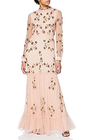Frock and Frill Damen Ivy Embellished Lace High Neck Maxi Dress cocktailkleid