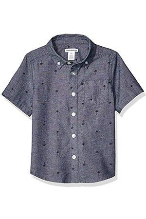 Amazon Jungen-Kurzarmshirt Poplin/Chambray
