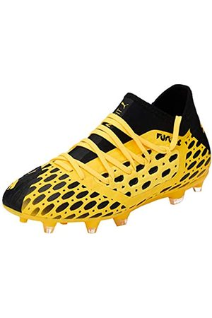 Puma Unisex-Kinder Future 5.3 Netfit Fg/ag Jr Botas de fútbol, (Ultra Yellow Black)
