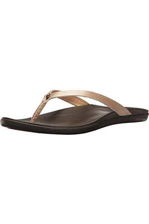 Olukai Ho'opio Leather Sandals- Women's/Dark Java 5