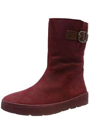 Think! Damen Winterstiefel - Damen DRUNTA_585094 Schneestiefel, (Cherry/Kombi 74)