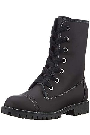 Roxy Damen Vance - Lace-up Leather Boots for Women Schlupfstiefel, (Black Blk)