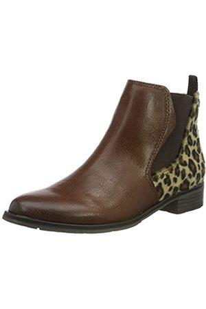 Marco Tozzi Damen 2-2-25039-33 Chelsea Boots, (Chestnut/Leo 308)
