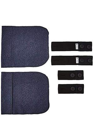 Bellinella BL1012-2Pack Umstandsunterwäsche-Set, Jeansblau, (Herstellergröße: One Size)