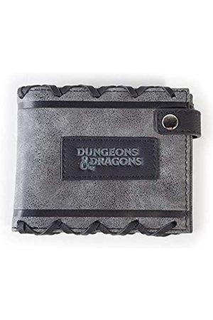 Difuzed Unisex-Kinder Dungeons & Dragons Logo Faux Leather Bi-fold Geldbörsen