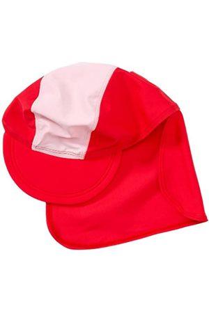 Playshoes Unisex - UV-Schutz nach Standard 801 und Oeko-Tex Standard 100 Bademütze Basic rot/ 460065, Gr. 49 (cm)