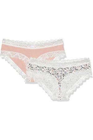 Skiny Damen Sweet Cotton Mix Panty 2er Pack Panties