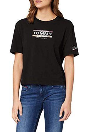 Tommy Hilfiger Damen Tjw Sleeve Detail Logo Tee T-Shirt