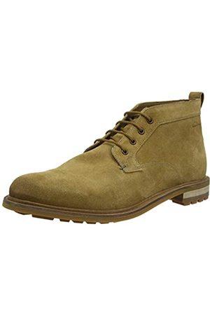 Clarks Herren Foxwell Mid Chukka Boots, (Dark Sand Dark Sand)