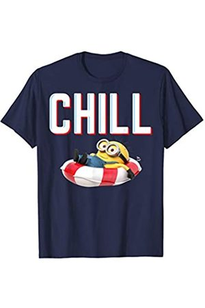 Minions Red White And Chill Minion In Floatie T-Shirt
