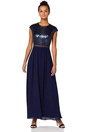 TRUTH & FABLE Amazon-Marke: Damen Maxi-Spitzenkleid, 42