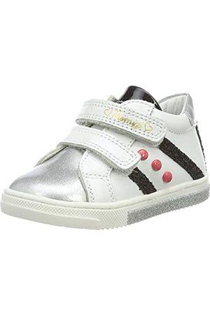Primigi Baby Mädchen PGR 44061 Sneaker, (Bianco/Argento 4406111)