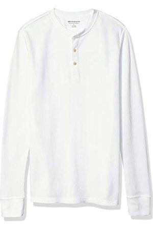 Amazon Slim-Fit Long-Sleeve Waffle henley-shirts