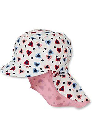 Sterntaler Schirmmütze für Mädchen mit Nackenschutz, Alter: 2-4 Jahre, Größe: 53